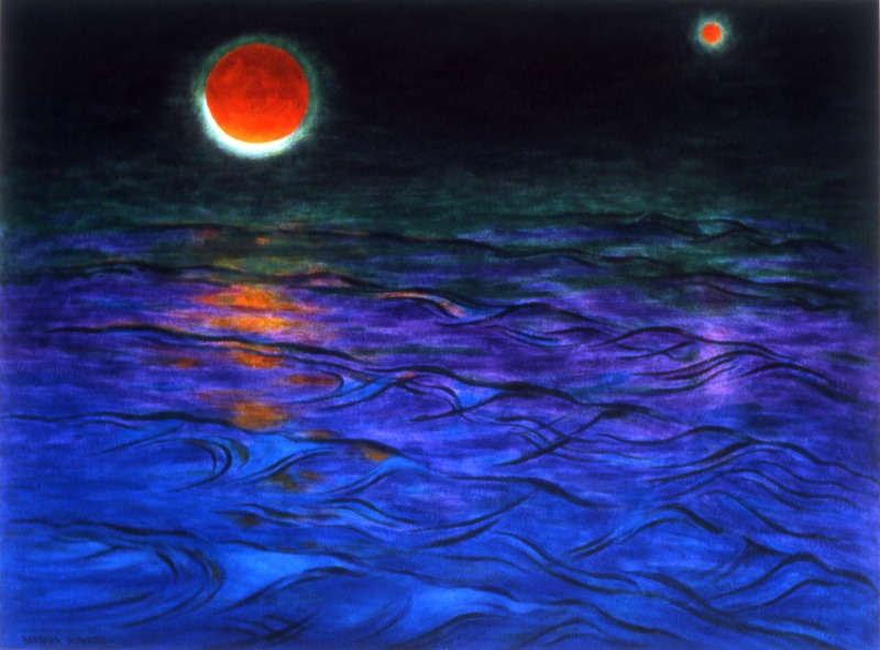 The Sea, Mars, the Moon